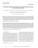 """Báo cáo lâm nghiệp: """"Classifying xylophone bar materials by perceptual, signal processing and wood anatomy analysis"""""""