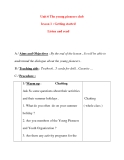 Giáo án Tiếng Anh lớp 8: Unit 6 The young pioneers club lesson 1 : Getting started Listen and read