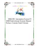 SIMATIC Automation System S7-400H Fault-tolerant Systems Manual  Preface, Contents Fault-Tolerant