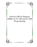 Function Block Diagram (FBD) for S7-300 and S7-400 Programming