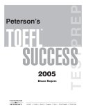 Peterson's TOEFL SUCCESS 2005