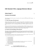 Draft of IEEE Standard VHDL Language Reference Manual