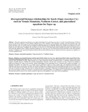"""Báo cáo lâm nghiệp:""""Aboveground biomass relationships for beech (Fagus moesiaca Cz.) trees in Vermio Mountain, Northern Greece, and generalised equations for Fagus sp."""""""