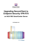 Upgrading SecureClient to Endpoint Security VPN R75 on NGX R65 SmartCenter Server