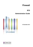 Firewall R75 Administration Guide