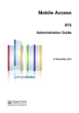 Mobile Access R75 Administration Guide