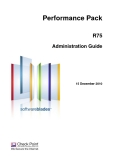Performance Pack R75 Administration Guide