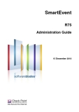 SmartEvent R75 Administration Guide