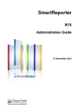 SmartReporter R75 Administration Guide