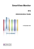 SmartView Monitor R75 Administration Guide