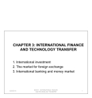 International finance and technology transfer