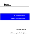 HF Antenna Cookbook Technical Application Report