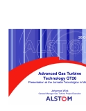 Advanced Gas Turbine Technology GT26 phần 1