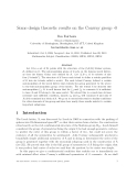 "Báo cáo toán học: ""Some design theoretic results on the Conway group ·0"""