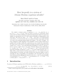"""Báo cáo toán học: """"How frequently is a system of 2-linear Boolean equations solvable"""""""