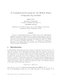 "Báo cáo toán học: ""A Combinatorial Formula for the Hilbert Series of bigraded Sn-modules"""