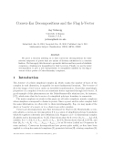 "Báo cáo toán học: ""Convex-Ear Decompositions and the Flag h-Vector"""