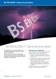 A Guide to BS EN 62305:2006 Protection Against Lightning Part 2
