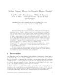 "Báo cáo toán học: ""On-line Ramsey Theory for Bounded Degree Graphs"""
