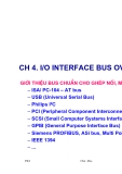 Chương 4:  I/O Interface bus overview