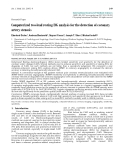 """Báo cáo y học: """"Computerized two-lead resting ECG analysis for the detection of coronary artery stenosis"""""""
