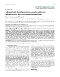 """Báo cáo y học: """"Self-rated health showed a consistent association with serum HDL-cholesterol in the cross-sectional Oslo Health Study"""""""