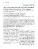 "Báo cáo toán học: "" Vgf is a novel biomarker associated with muscle weakness in amyotrophic lateral sclerosis (ALS), with a potential role in disease pathogenesis"""