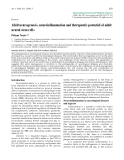 """Báo cáo toán học: """"Adult neurogenesis, neuroinflammation and therapeutic potential of adult neural stem cells"""""""