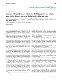 "Báo cáo y học: ""Incidence of Ocular Zoonoses referred to the Inflammatory and Autoimmune Ocular Diseases Service of the University of Parma - Italy"""