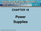 CHAPTER 18: Power Supplies