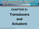 CHAPTER 21: Transducers and Actuators