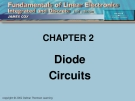 CHAPTER 2: Diode Circuits