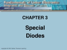 CHAPTER 3: Special Diodes