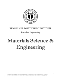 Materials Science & Engineering phần 1