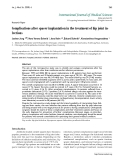"""Báo cáo y học: """"Complications after spacer implantation in the treatment of hip joint infections"""""""