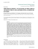 "Báo cáo y học: ""NITRIC OXIDE (NO), CITRULLINE – NO CYCLE ENZYMES, GLUTAMINE SYNTHETASE AND OXIDATIVE STRESS IN ANOXIA (HYPOBARIC HYPOXIA) AND REPERFUSION IN RAT BRAIN"""