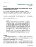 """Báo cáo y học: """"Line bisection performance in patients with generalized anxiety disorder and treatment-resistant depressionLine bisection performance in patients with generalized anxiety disorder and treatment-resistant depression"""""""