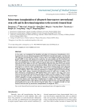 """Báo cáo y học: """"ntravenous transplantation of allogeneic bone marrow mesenchymal stem cells and its directional migration to the necrotic femoral head"""""""