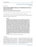 """Báo cáo y học: """"Characterization of Human Erythrocytes as Potential Carrier for Pravastatin: An In Vitro Study"""""""