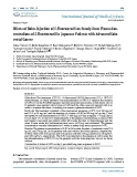"""Báo cáo y học: """"Effects of Bolus Injection of 5-Fluorouracil on Steady-State Plasma Concentrations of 5-Fluorouracil in Japanese Patients with Advanced"""""""