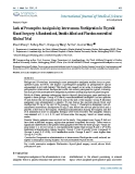"""Báo cáo y học: """"Lack of Preemptive Analgesia by Intravenous Flurbiprofen in Thyroid Gland Surgery: A Randomized, Double-blind and Placebo-controlled Clinical Trial"""""""