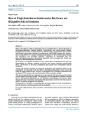 "Báo cáo y học: "" Effect of Weight Reduction on Cardiovascular Risk Factors and CD34-positive Cells in Circulatio"""