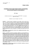 "Báo cáo lâm nghiệp: ""A model of with  even-aged beech stands productivity process-based interpretations"""