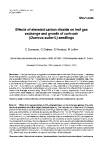 "Báo cáo lâm nghiệp: ""Effects of elevated carbon dioxide on leaf gas exchange and growth of cork-oak (Quercus suber L) seedlings """