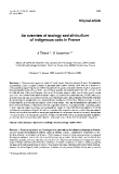 "Báo cáo lâm nghiệp: "" An overview of ecology and silviculture of indigenous oaks in France"""