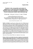 """Báo cáo lâm nghiệp: """"Variation in the composition and content of ellagitannins in the heartwood of European oaks (Quercus robur and Q petraea). A comparison of two French forests and variation with heartwood age"""""""