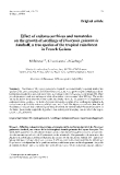 """Báo cáo khoa học: """"Effect of endomycorrhizas and nematodes on the growth of seedlings of Dicorynia guianensis Amshoff, a tree species of the tropical rain forest in French Guiana """""""