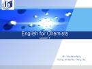 English for Chemists Lesson 4