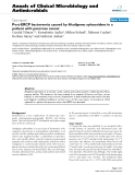 """Báo cáo sinh học: """"Post-ERCP bacteremia caused by Alcaligenes xylosoxidans in a patient with pancreas cancer"""""""