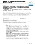 "Báo cáo sinh học: ""The molecular epidemiology of Stenotrophomonas maltophilia bacteraemia in a tertiary referral hospital in the United Arab Emirates 2000–2004"""